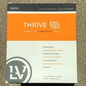 Other - Thrive vanilla lifestyle shakes (individual packs)